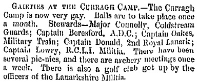 belfast-newsletter-1858-07-01-curragh-gc-founded-by-lanark-militia